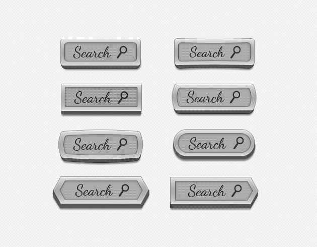 free psd search box