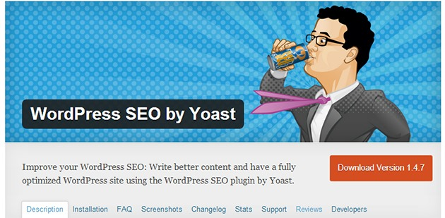 SEO by Yoast plugin